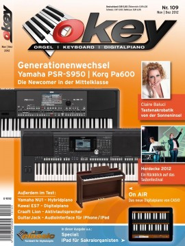 OKEY Ausgabe 109 - Dezember/November 2012