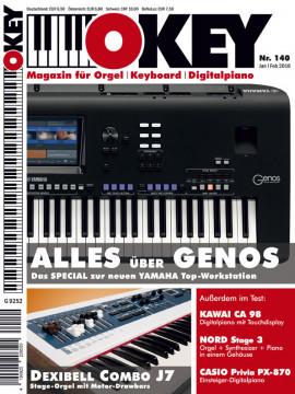 OKEY Ausgabe 140 - Januar/Februar 2018