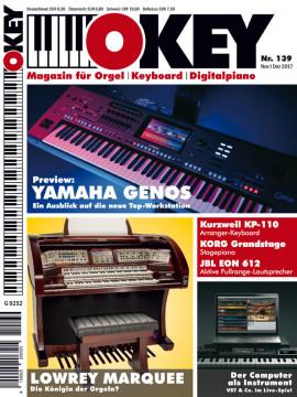 OKEY Ausgabe 139 - November/Dezember 2017