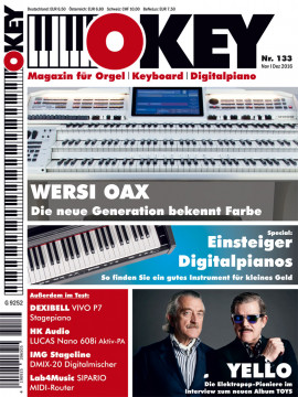 OKEY Ausgabe 133 - November/Dezember 2016