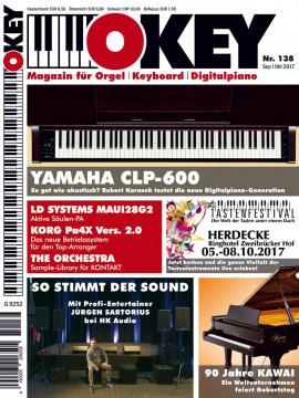 OKEY Ausgabe 138 - September/Oktober 2017