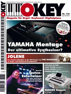 OKEY Ausgabe 132 - September/Oktober 2016
