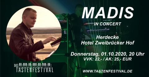 Konzertticket MADIS, 01.10.2020, Herdecke - Ruhrfestsaal