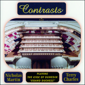 Nicholas Martin - Contrasts (Nicholas Martin + Terry Charles)