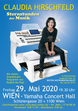 29.05.2020, Wien - Yamaha Concert Hall Vienna