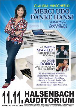 11.11.2018, Halsenbach - Auditorium