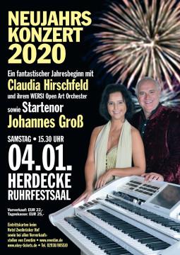 04.01.2020, Herdecke - Ruhrfestsaal