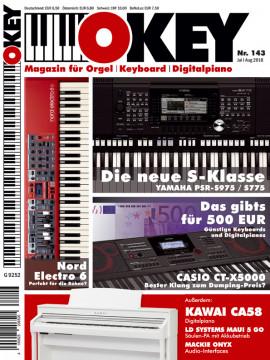OKEY Ausgabe 143 - Juli/August 2018