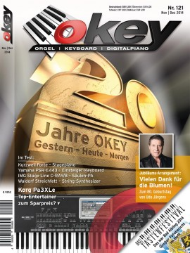 OKEY Ausgabe 121 - November / Dezember 2014