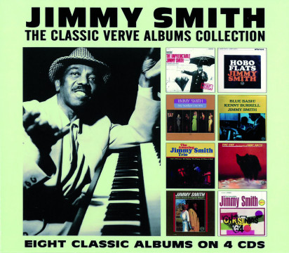 Jimmy Smith - The Classic Verve Album Collection (4CD)