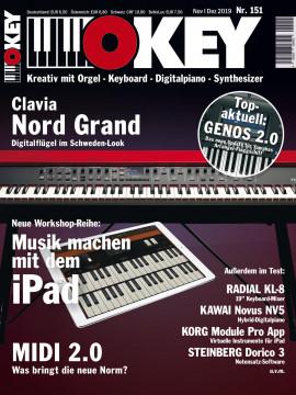 OKEY Ausgabe 151 - Jubiläumsausgabe November/Dezember 2019