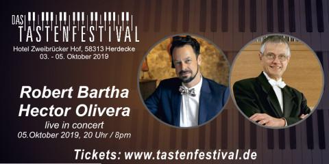 Konzertticket Robert Bartha + Hector Olivera, 05.10.2019, Herdecke - Ruhrfestsaal