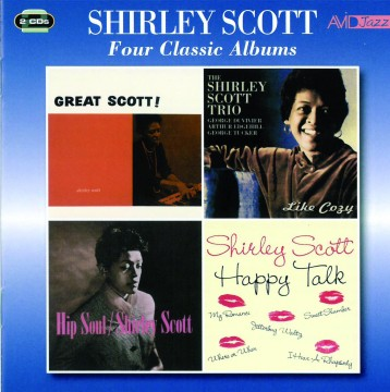Shirley Scott - Four Classic Albums