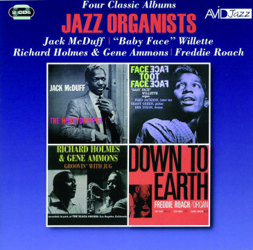 Jazz Organists - Four Classic Albums (2CD)