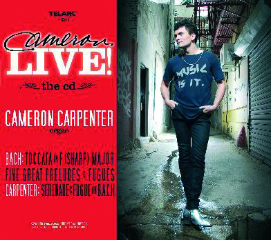 Cameron Carpenter - Cameron Live