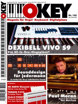 OKEY Ausgabe 145 - November/Dezember 2018