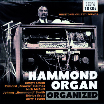 Hammond Organ Organized (10 CDs)