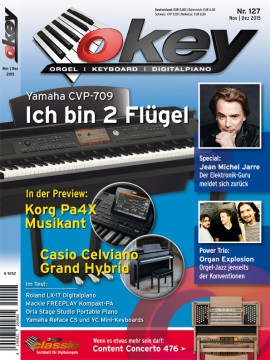 OKEY Ausgabe 127 - November / Dezember 2015