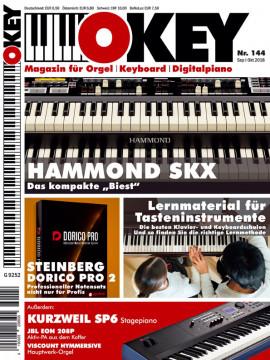 OKEY Ausgabe 144 - September/Oktober 2018