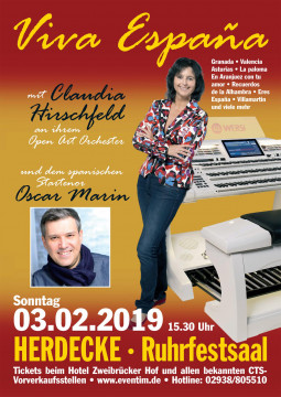 03.02.2019, Herdecke - Ruhrfestsaal