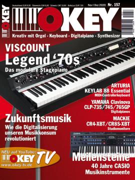 OKEY Ausgabe 157 - November/Dezember 2020