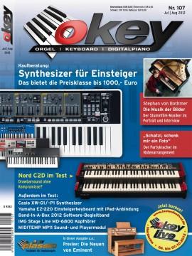 OKEY Ausgabe 107 - Juli/August 2012