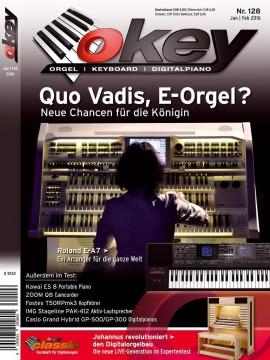 OKEY Ausgabe 128 - Januar / Februar 2016