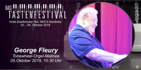 Ticket Tonewheel-Orgel-Matinee mit George Fleury, 05.10.2019, Herdecke - Ruhrfestsaal