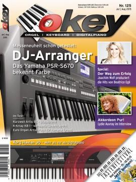 OKEY Ausgabe 125 - Juli / August 2015