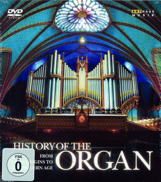 History Of The Organ - Dokumentation (4 DVD)