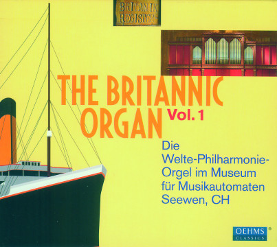 Diverse Interpreten - The Britannic Organ Vol.1