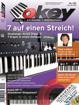 OKEY Ausgabe 120 - September/Oktober 2014