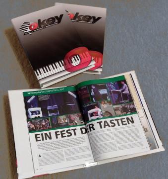 OKEY Sammelordner für 6 Hefte (1 Jahrgang)
