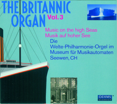 Diverse Interpreten - The Britannic Organ Vol.3