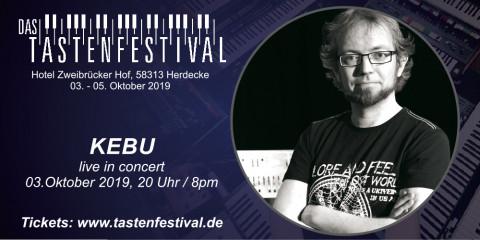 Konzertticket KEBU, 03.10.2019, Herdecke - Ruhrfestsaal